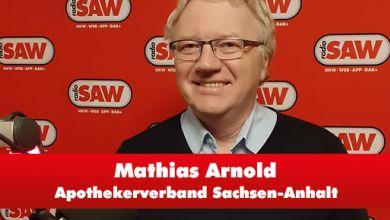 Mathias Arnold, Apothekerverband Sachsen-Anhalt