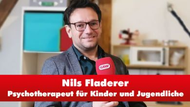 Diplom Pädagoge und Psychotherapeut Nils Fladerer