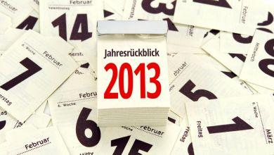 Jahresrueckblick 2013
