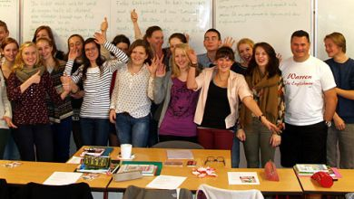 Klasse übersetzt in Pforte