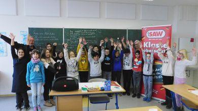 4. Klasse der Regenbogen Grundschule in Bernburg