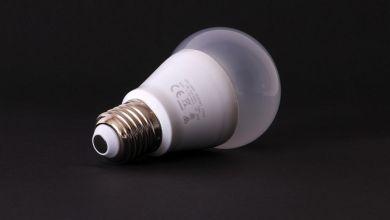 Lampe, LED