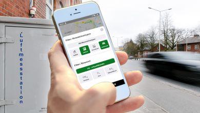 Neue App zur Luftqualität vom UBA