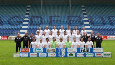 1. FC Magdeburg Mannschaft 2012