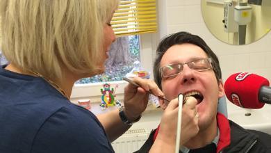 Jan beim Zahnarzt