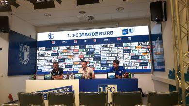 Pressekonferenz 1. FC Magdeburg