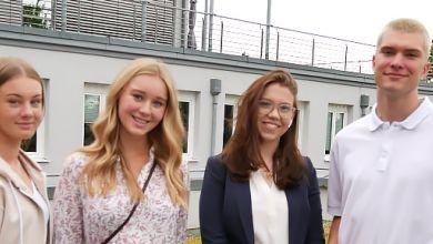 Schülerferienticketmodels 2021 zu Besuch bei radio SAW