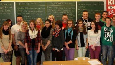 Klasse übersetzt in Egeln
