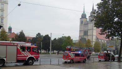 Feuerwehreinsatz in Magdeburg