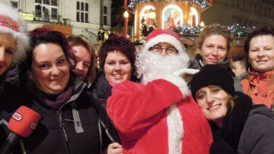 Weihnachtsengel in Halle
