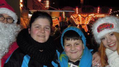 Weihnachtsengel in Sangerhausen