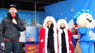 Weihnachtsshow in Leuna