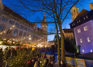 Weihnachtsmarkt Braunschweig.Braunschweiger Weihnachtsmarkt Setzt Auf Nachhaltigkeit Radio Saw