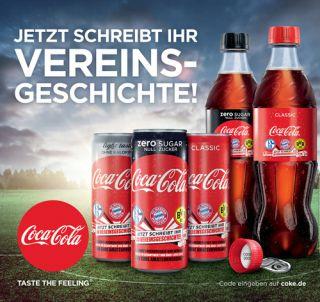 Coca Cola Vereinsgeschickte