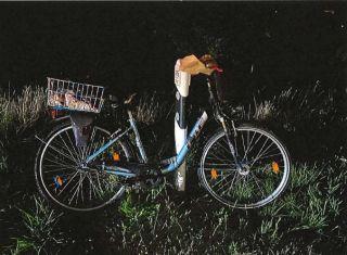 Fahrrad des Vermissten