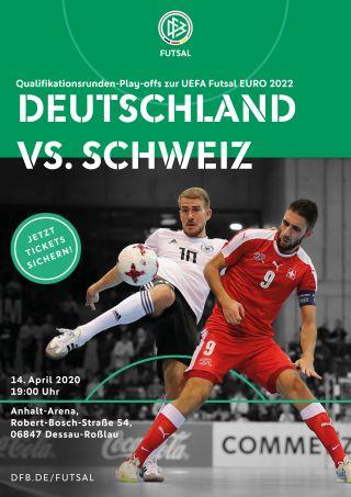 Futsal Länderspiel - Deutschland vs. Schweiz