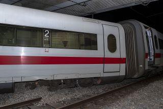 Zug in Basel entgleist