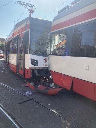 Straßenbahnunfall in Halberstadt