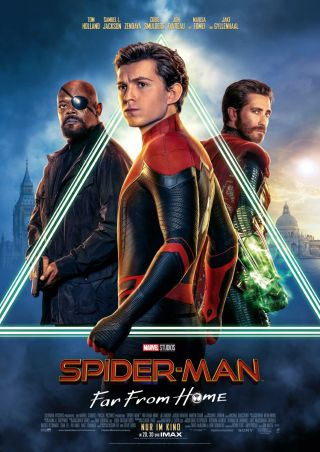Spiderman Filmplakat