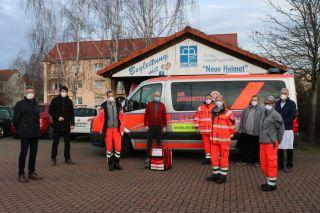 Mobiles Impfteam im Landkreis Stendal