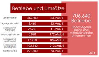 Grafik: Betriebe und Umsätze