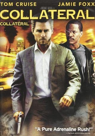"""Filmplakat: """"Collateral"""" mit Jamie Foxx und Tom Cruise"""