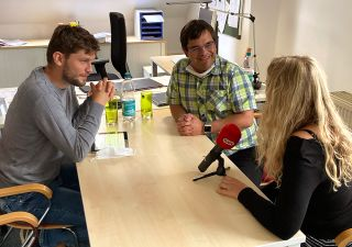 Interview Michel Holzberger, Sebastian Lütgert und Susanne Fritsche
