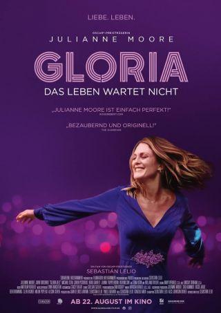 gloria, das leben wartet nicht filmplakat