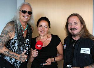 Rickey Medlocke, Barbara Klabunde, Johnny Van Zant