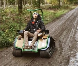 Michel Holzberger offroad im Ziesel