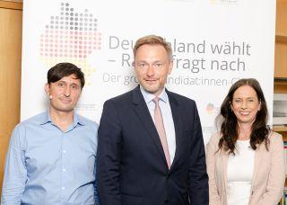 Jörg Ratzsch; Christian Lindner (FDP); Grit Leithäuser