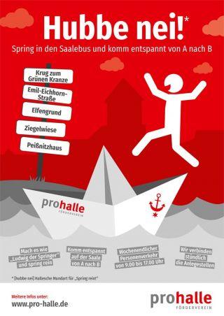 Plakat Pro Halle