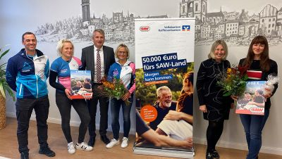 1.000 Euro Gewinner: Triathlon Freunde Wittenberg e.V.