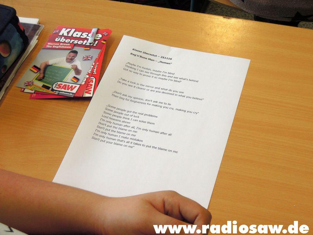 Fotos Klasse übersetzt In Roitzsch Radio Saw