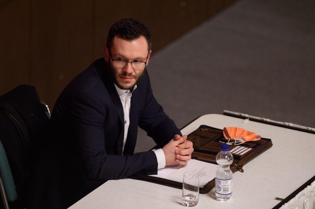 """Foto: Klaus-Dietmar Gabbert/dpa-Zentralbild/dpa<br /><strong class=""""verstecktivw"""">Kandidaten Landratswahl Salzlandkreis</strong>"""
