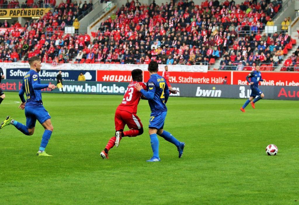 Hfc Gegen Braunschweig