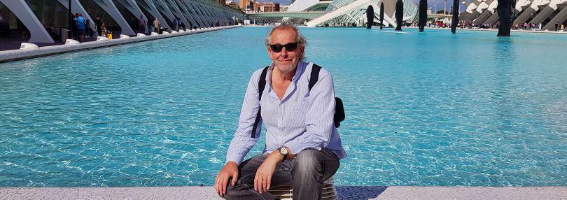 Horst Müller auf einem Kreuzfahrtschiff