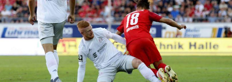 Bayern II gegen HFC Spielszene