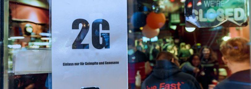 2G in einer Bar