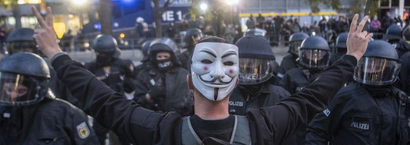 """Demonstration """"Querdenken"""""""