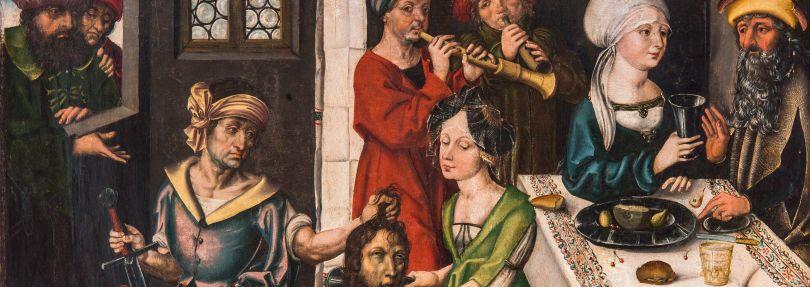 Dürer-Gemälde auf Altar