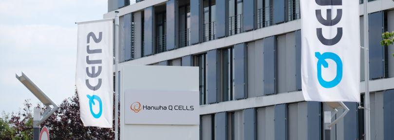 Der Standort von Hanwha Q Cells.