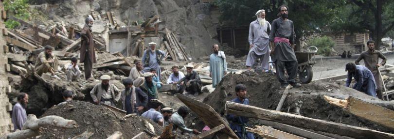 Überschwemmungen im Osten Afghanistans