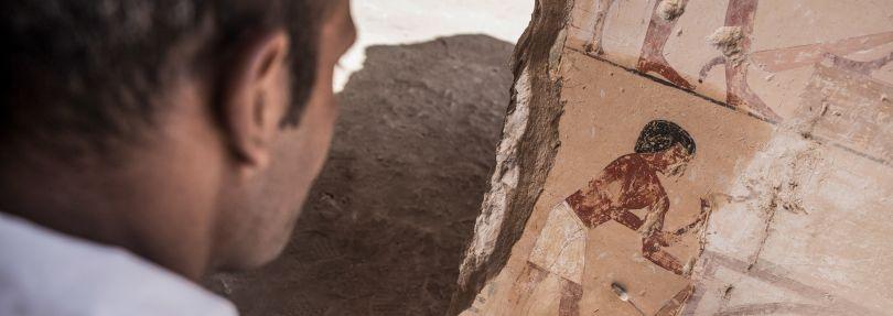 Neues Pharaonengrab in Ägypten entdeckt