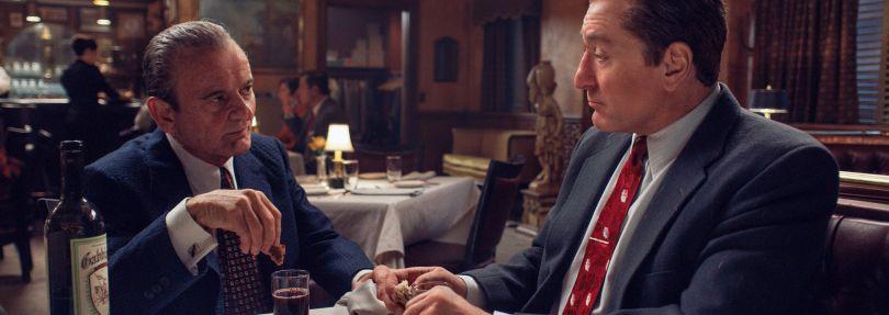 "Joe Pesci, Robert De Niro in ""The Irishman"""