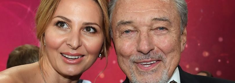Karel Gott mit seiner Frau Ivana