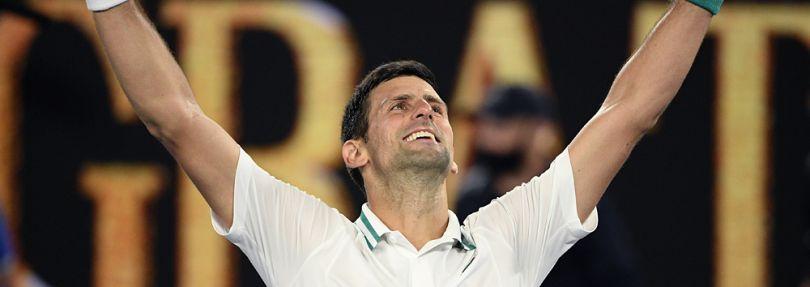 Novak Djokovic gewinnt die Australian Open