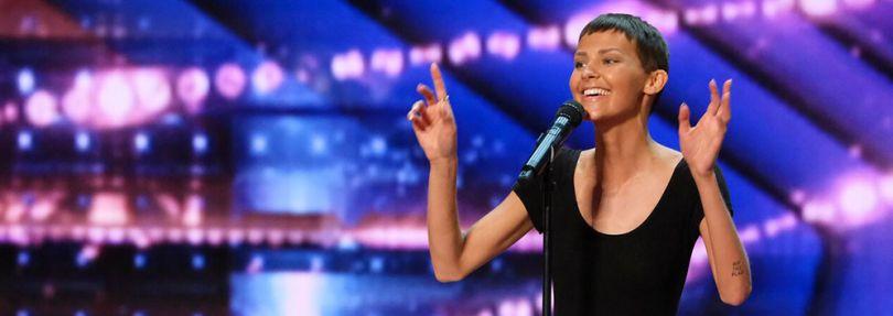 Sängerin Nightbride bei America's Got Talent