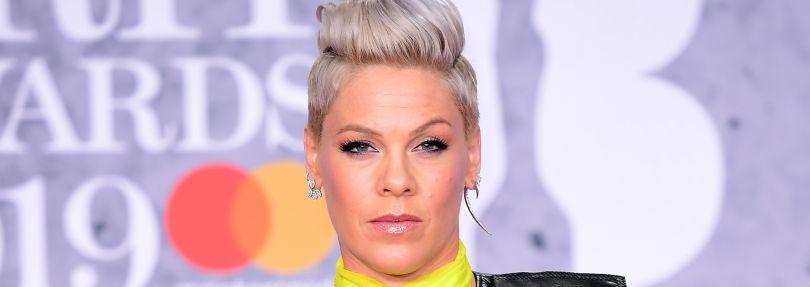 Pink, Sängerin aus den USA, 2019 bei den Brit Awards