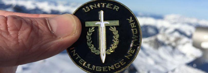 Uniter Logo-Münze